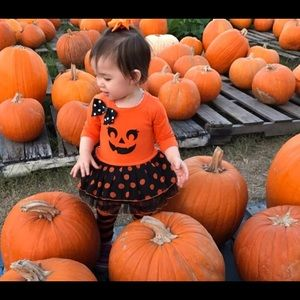 Youngland Baby Halloween pumpkin outfit